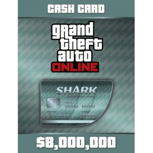Grand Theft Auto Online: Megalodon Shark Card Digital (código) / PC Rockstar Social Club