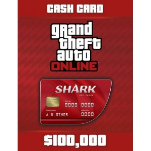 Grand Theft Auto Online: Red Shark Card Digital (código) / PC Rockstar Social Club