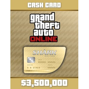 Grand Theft Auto Online: Whale Shark Cash Card Digital (código) / PC Rockstar Social Club