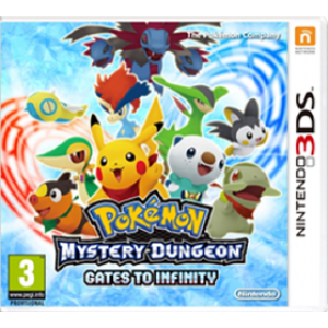 Pokémon Mystery Dungeon: Gates to Infinity Digital (Código) / 3DS