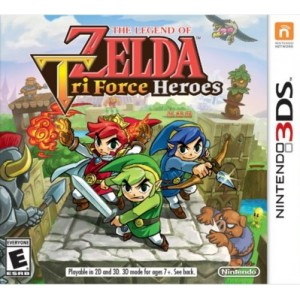 The Legend of Zelda: Tri Force Heroes Digital (Código) / 3DS