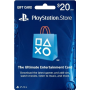 Playstation Network Card 20 Usd (USA)