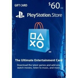 Playstation Network Card 60 Usd (USA)