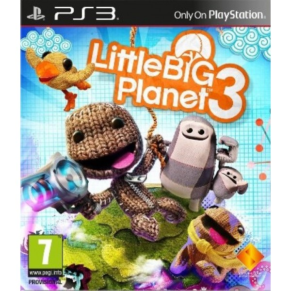 LittleBigPlanet 3 Digital (código) / Ps3