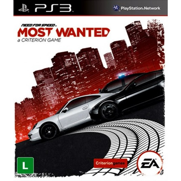 Need For Speed: Most Wanted Digital (código) / Ps3