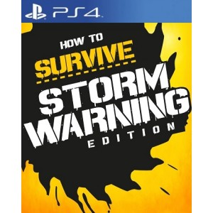 How To Survive: Storm Warning Edition Digital (código) / Ps4