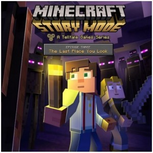 Minecraft: Story Mode - Episode 3: The Last Place You Look  Digital (Código) / Ps3