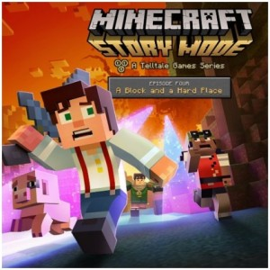 Minecraft: Story Mode - Episode 4: A Block And A Hard Place Digital (Código) / Ps3