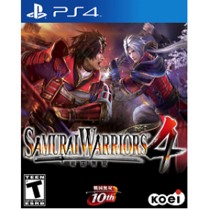 Samurai Warriors 4 Digital (código) / Ps4