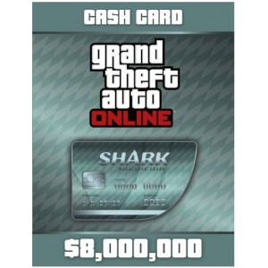 Grand Theft Auto V: Megalodon Shark Cash Card Digital (código) / Ps4