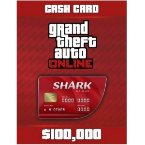 Grand Theft Auto V: Red Shark Cash Card Digital (código) / Ps4