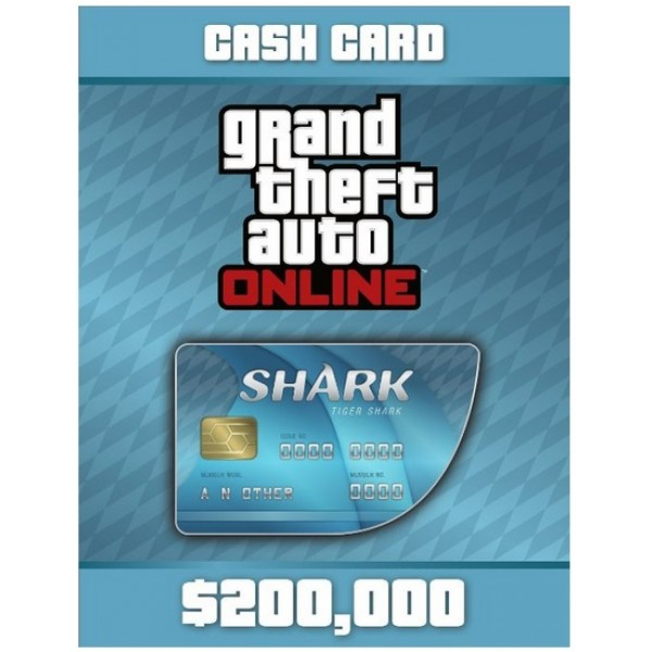 Grand Theft Auto V: Tiger Shark Cash Card Digital (código) / Ps4