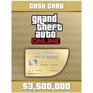 Grand Theft Auto V: Whale Shark Cash Card Digital (código) / Ps4