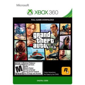 Grand Theft Auto 5 Digital (código) / Xbox 360